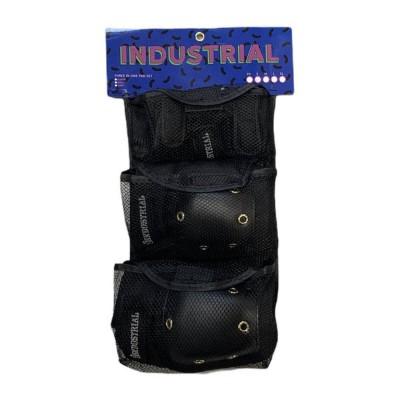 Set de Protecciones Industrial Black