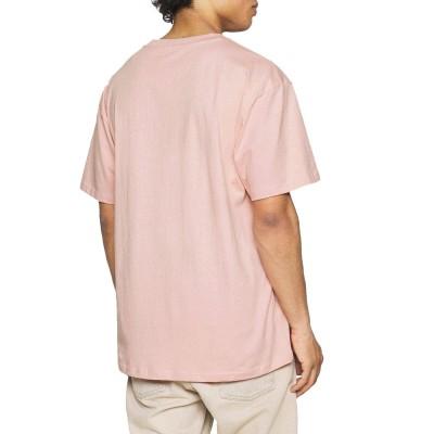 Camiseta Karl Kani Small Signature Rosa Rose