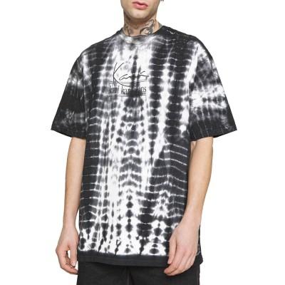 Camiseta Karl Kani Signature Tie Dye Blanco White