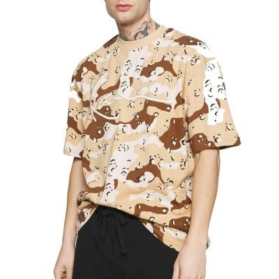 Camiseta Karl Kani Signature Camo Marrón Sand