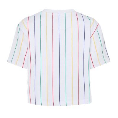 Camiseta crop top  Karl Kani 6138995 Blanco White