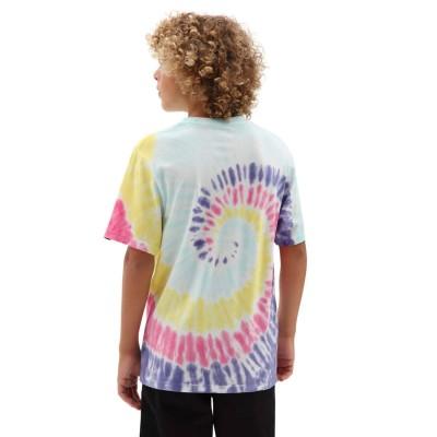 Camiseta niño Vans By Tie Dye Easy Box Tee Boys Rainbow...