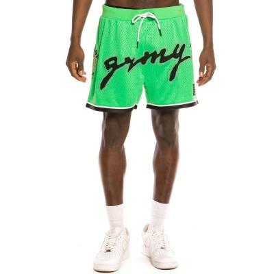 Pantalones Cortos Grimey Strange Fruit Mesh Shorts Green