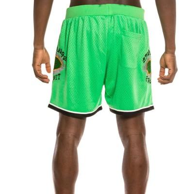 Pantalón Corto Grimey Strange Fruit Mesh Shorts Green