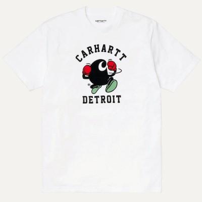 Camiseta Carhartt S-S Boxing C T-Shirt White