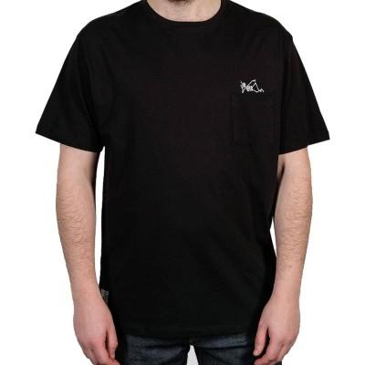 Camiseta The Dudes Smokin negra