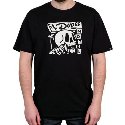 Camiseta The Dudes Dudes Inn negra