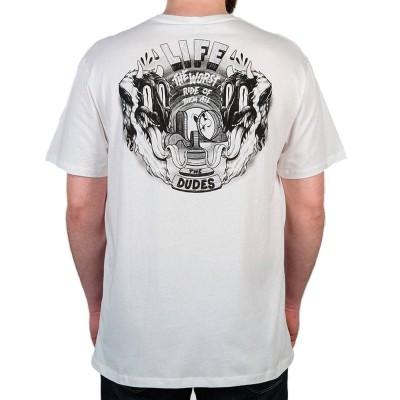 Camiseta The Dudes Life blanca