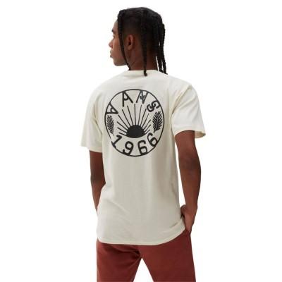 Camiseta Vans Mn Dakota Roche Logo Ss Seedpearl