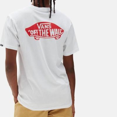 Camiseta Vans Mn Otw Classic White-High Risk Red