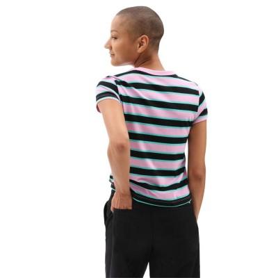 Camiseta Vans Big Stripe Black