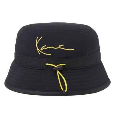 Gorro bucket Karl Kani Siganture Bucket Negro Black