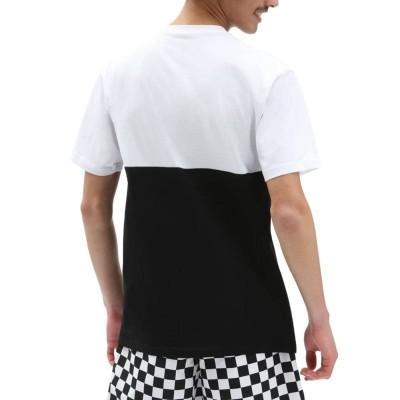 Camiseta Vans Colorblock Tee Black-White