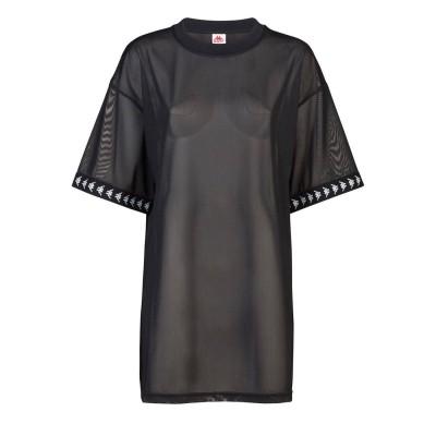 Camiseta Kappa 222 Banca Edy negra black-white-black