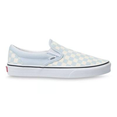 Zapatillas Vans Ua Classic Slip-On (Checkerboard)Blldbltrwht