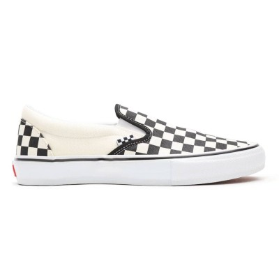Zapatillas Vans Mn Skate Slip-On (Checkerboard) Black-Off