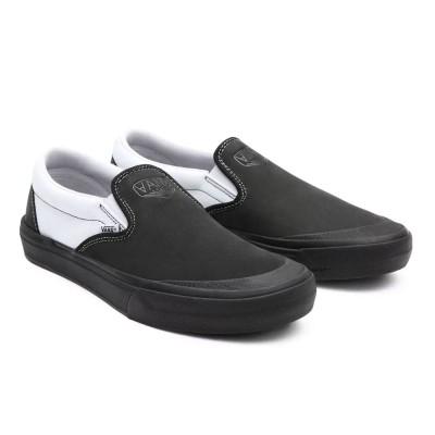 Zapatillas Vans Bmx Slip-On (Dak) Black-White