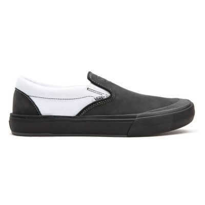Zapatillas Vans Mn Bmx Slip-On (Dak) Black-White