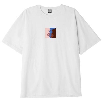 Camiseta OBEY Hers blanca white