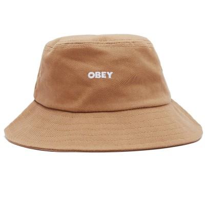 Gorro bucket OBEY Bold Jazz bucket hat marron khaki caqui