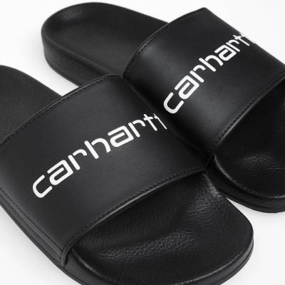 Chancla sandalia Carhartt Carhartt WIP Slipper Black - White