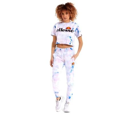 Camiseta crop top Ellesse Alberta Tie Dye Cropped Tee...