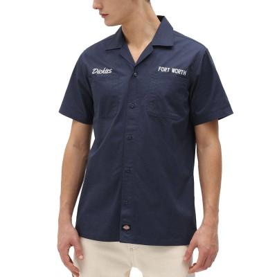 Camisa Dickies Halma Shirt Navy Blue azul