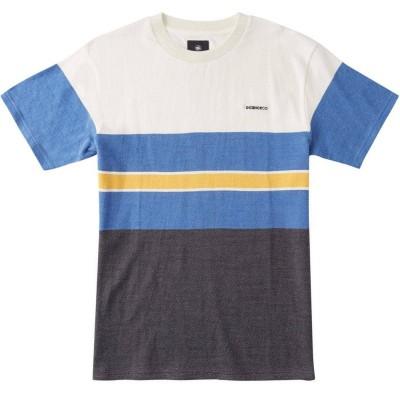Camiseta DC Shoes Rally Stripe Tee multi turkish sea block