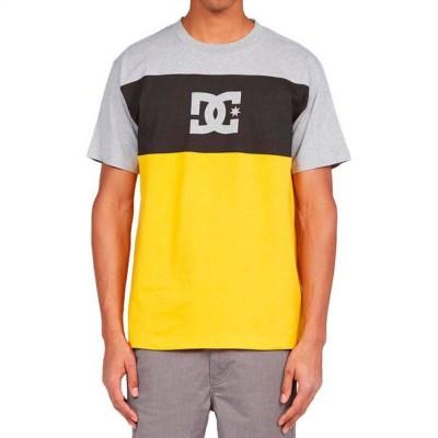 Camiseta DC Shoes Glen End 211 golden rod