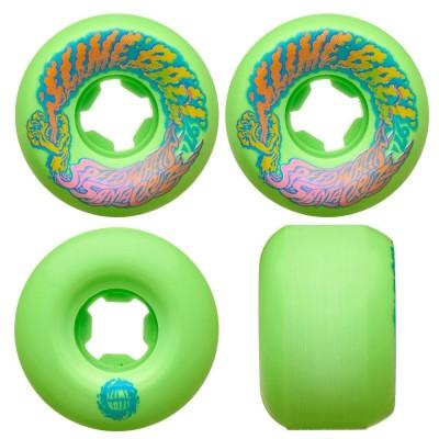 Ruedas Skate Slime Balls Santa Cruz Skateboard 53mm Vomit...