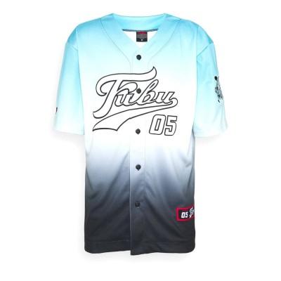 Beisbolera Fubu Varsity Baseball Jersey Gradient Light...
