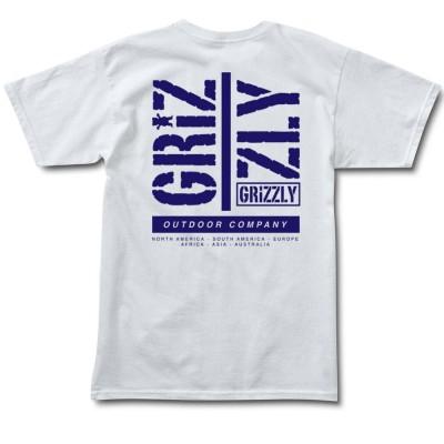 Camiseta Grizzly Family Tees White