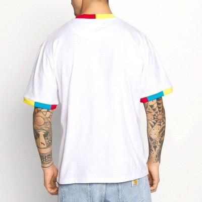 Camiseta Karl Kani Small Signature Blanco White