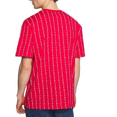 Camiseta Karl Kani 6030272 Rojo Red