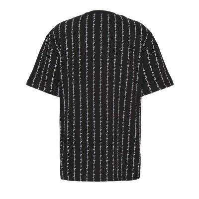 Camiseta Karl Kani Signature Logo Pinstripe Negro Black