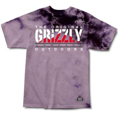 Camiseta Grizzly Rocky Mountain High Tie Dye