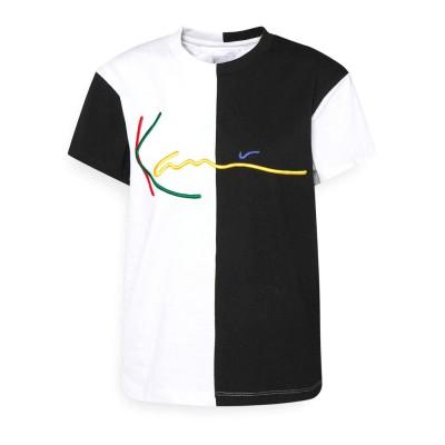 Camiseta mujer Karl Kani 6137000 Negro Black Blanco White