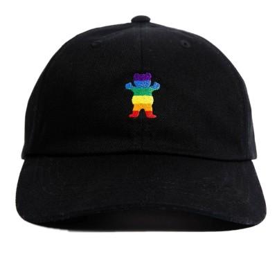 Gorra Grizzly Pride Bear Dad Hat Black
