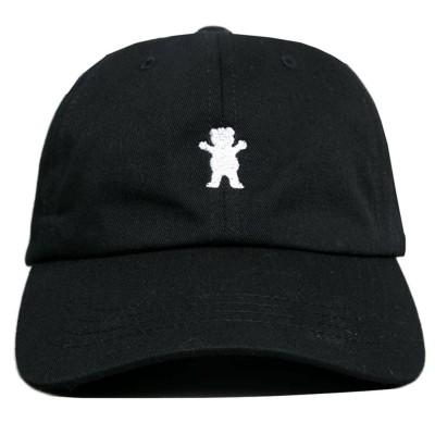Gorra Grizzly OG Bear Dad Hat Black
