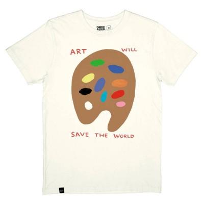 Camiseta Dedicated Tee Stockholm Art Will Save Off-White...