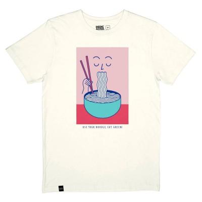 Camiseta Dedicated Tee Stockholm Noodle Off-White