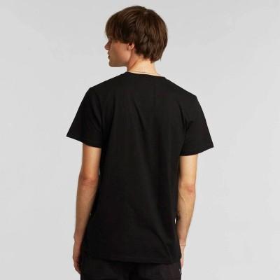 Camiseta Dedicated Tee Stockholm Stitch Bike Black Black