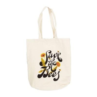 Bolsa Tote Bag Dedicated Torekov Save The Bees Off-White...