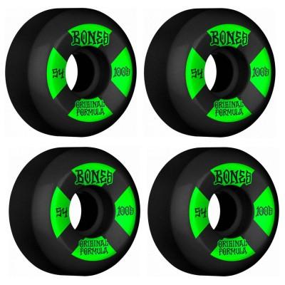 Ruedas Skate Bones 100s  V5 54mm OGF Black