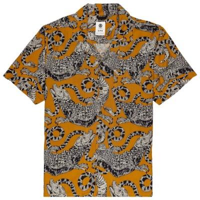 Camisa Element Lizard Ss Gold Eatme