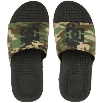 Chanclas slipers DC Shoes Bolsa negro camo black