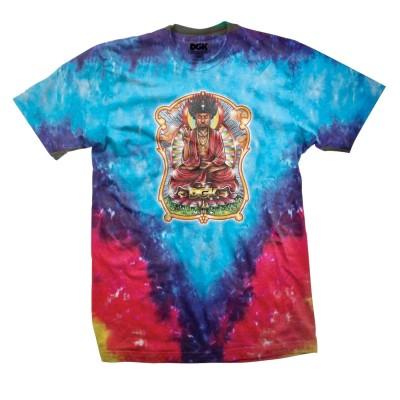 Camiseta DGK Buddha Tee Printed Tie Dye Tee Tie Dye