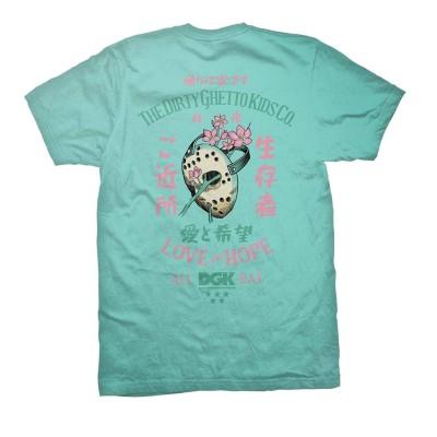 Camiseta DGK Blossom Tee Printed Tee Celadon