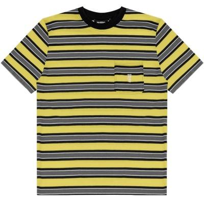 Camiseta Wasted Paris T-shirt Stripes Yellow