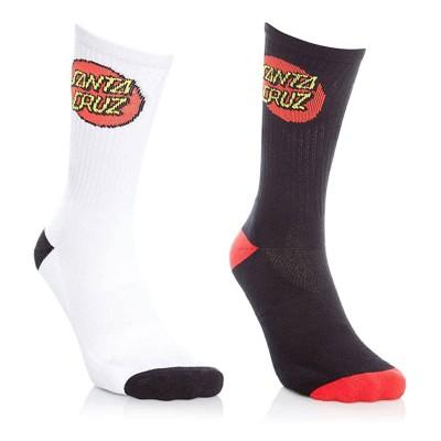 Calcetines Santa Cruz Socks Classic Dot (2 Pk)...